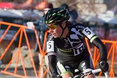 Duque de Nicole - corredor de Cyclocross de la mujer profesional Fotos de archivo