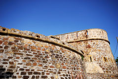 Duquesa castle, Spain. View of the outside of the castle, Duquesa, Malaga Province, Andalucia, Spain, Western Europe stock photography