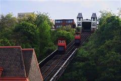 Duquesne斜面在匹兹堡,宾夕法尼亚,美国 免版税库存图片