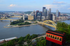 Duquesne Incline Cable Railway Royalty Free Stock Images