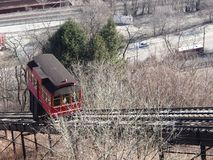 Duquesne Incline Pittsburgh PA royalty free stock photo