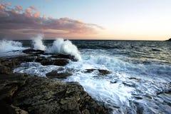 Durée d'océan Images libres de droits