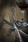 Durée de couteau et de fourchette toujours Photo libre de droits