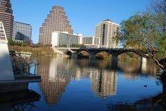 Durée de fleuve d'Austin Photographie stock libre de droits