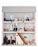 Durée de Noël dans une Chambre de poupée Photo libre de droits