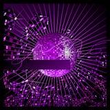 Durée de nuit urbaine de disco. Images stock