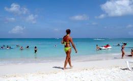 Durée de plage Image stock