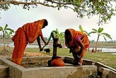 Durée de village de Sundarban Photographie stock libre de droits