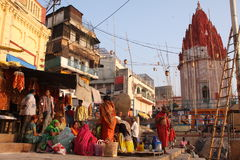Durée de ville en Inde Photo stock