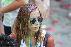 Durée en couleurs Photo libre de droits