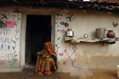 Durée indienne de village Photographie stock