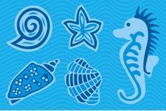 Durée marine Illustration de Vecteur