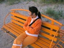 Durée orange Image stock