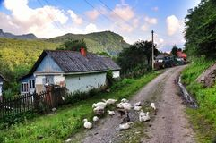 Durée rurale image libre de droits