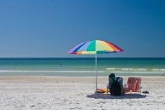 durée s de plage Photo stock