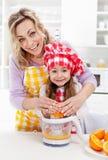 Durée saine par la bonne nutrition photographie stock