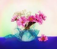Durée toujours avec des fleurs Photo libre de droits