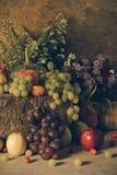 Durée toujours avec des fruits Image stock