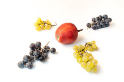 Durée toujours avec des fruits Photos stock