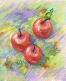 Durée toujours avec des pommes. Photographie stock libre de droits
