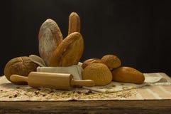 Durée toujours avec du pain Photographie stock