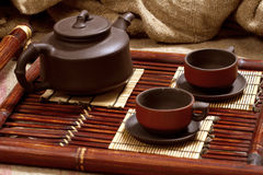 Durée toujours avec du thé Photos stock