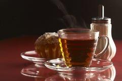 Durée toujours avec du thé Photographie stock libre de droits