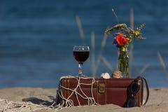 Durée toujours avec du vin Photographie stock libre de droits