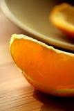 Durée toujours avec l'orange fraîche Photos libres de droits