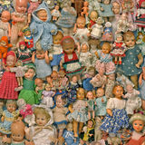 Durée toujours avec poupées Image libre de droits