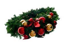 Durée toujours de guirlande de Noël photographie stock
