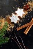durée toujours de nourriture de Noël Photos stock