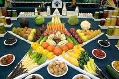 Durée toujours des légumes dans la forme d'étoile Photographie stock