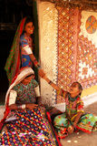 Durée tribale en Inde image stock