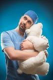 Dur labeur des médecins Photographie stock libre de droits