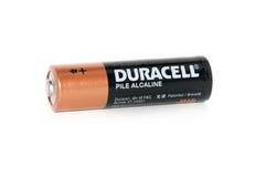 Duracell-Batterie Lizenzfreies Stockbild