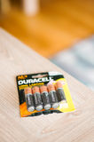 Duracell batteries Royalty Free Stock Image
