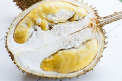 Durain. Thai fruit : Durain fresh from garden Stock Photo