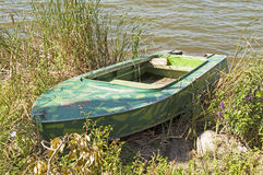Dural fishing boat on the lake Stock Photography