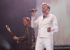 Duran Duran στο σόναρ 025 Στοκ Εικόνες