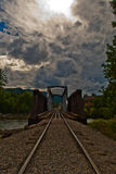 Durango Colorado HDR Bridge Cloudy Summer Days Stock Photography