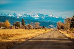 Durango Colorado US 550 stockfotografie