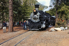 Durango e estrada de ferro de Sliverton Foto de Stock Royalty Free