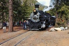 Durango i Sliverton linia kolejowa zdjęcie royalty free