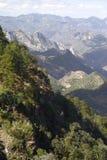 Durango mountains. Place known as the espinazo del diablo, as part of the mountains of durango, mexico stock image