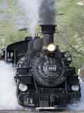 The Durango-Silverton line. Stock Photo