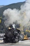 Durango Silverton linia kolejowa Zdjęcia Royalty Free
