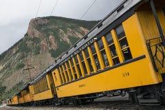 Durango and Silverton Narrow Gauge Railroad featuring Steam Engine Train ride, Durango, Colorado, USA Royalty Free Stock Photography
