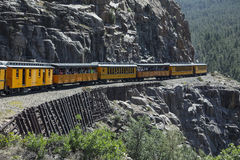 Durango and Silverton Narrow Gauge Railroad Steam Engine Train ride, Durango, Colorado, USA Royalty Free Stock Photography