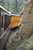 Durango and Silverton Narrow Gauge Railroad Steam Engine Train ride, Durango, Colorado, USA Stock Photography